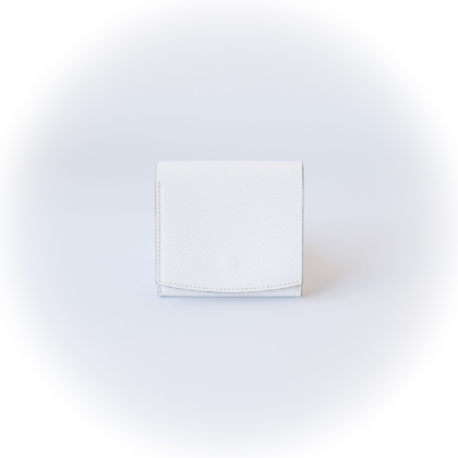Wallet Compact/ 2 WHITE