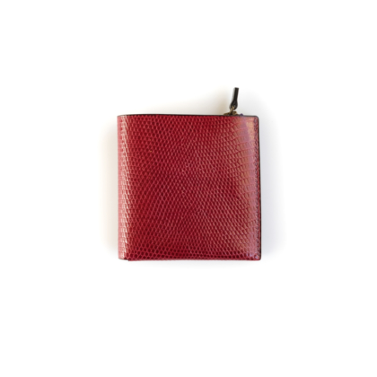 1/4 Wallet/ RED LIZARD
