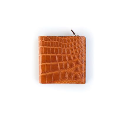 1/4 Wallet/ GOLD CROCO
