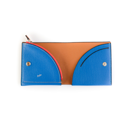 1/4 Wallet/ BLUE OAK