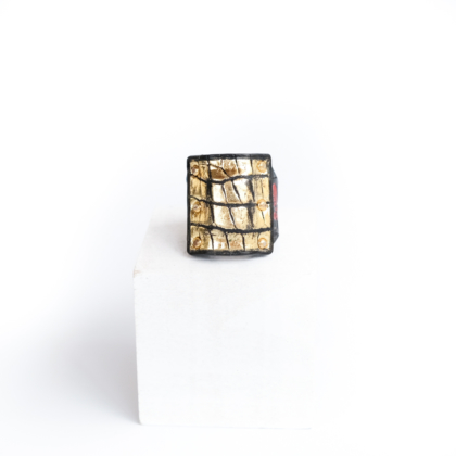 Ring/ SQ. GOLD #18