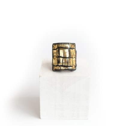 Ring/ SQ. GOLD #13
