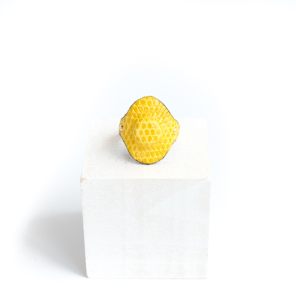 Ring/ OVAL YELLOW #21