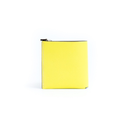 1/4 Wallet/ LEMON&GRAY