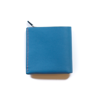 1/4 Wallet/ BLUE TAUPE