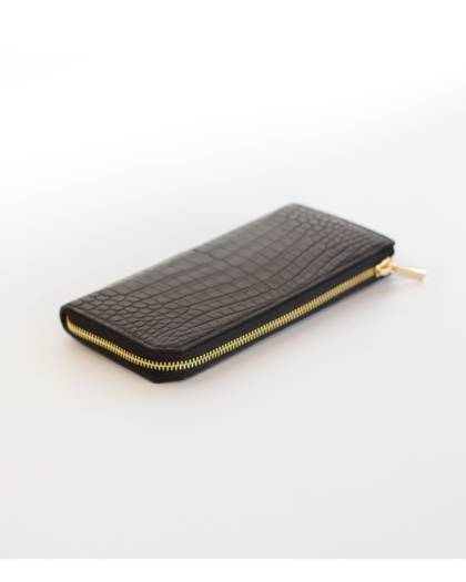 Wallet L/ CROCODILE ZIP