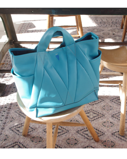 Bag M/ LIGHT TURQUOISE