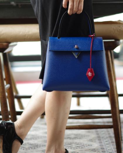 Hand Bag/ BLUE