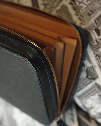 Wallet L/ MULTI BLK