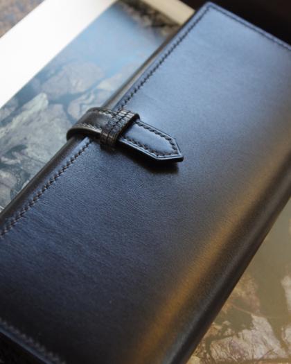 Wallet L/ BLACK BOX CALF