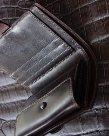 Wallet/ BRIDLE LEATHER 1