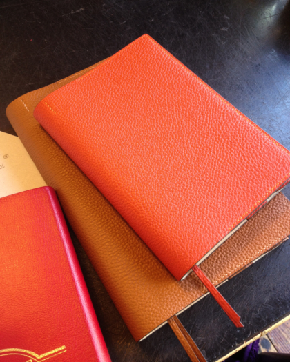 Stationary/ BOOK COVER SHRINK CALF