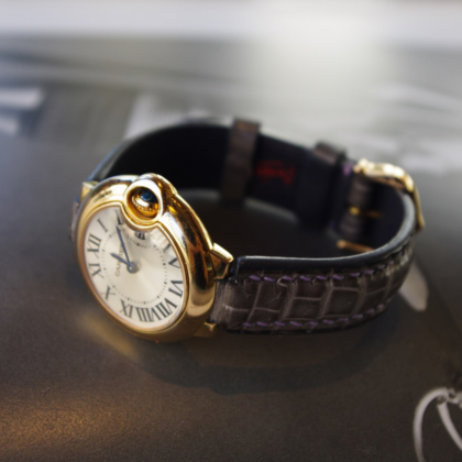 Watch Strap/ Ballon Bleu de Cartier