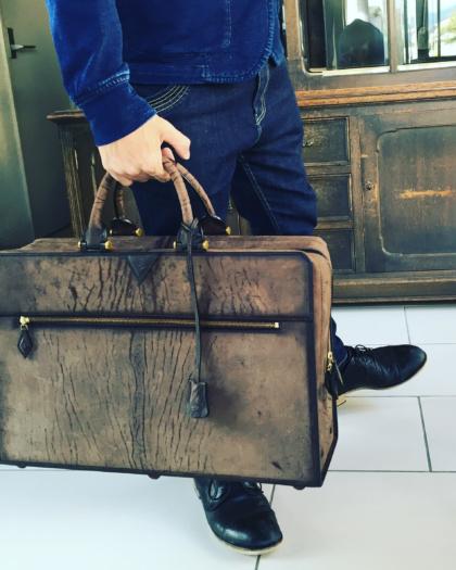 Bag L/  AFRICA SQ.